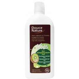 KIDS, Șampon-gel de duș cu kiwi, 300ml - Douce Nature