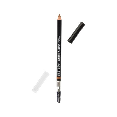 Creion pentru sprancene Eyebrow-Designer Gentle brown 1,13g - Benecos
