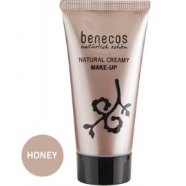 Fond de ten natural Natural Creamy Make-Up honey 30ml - Benecos