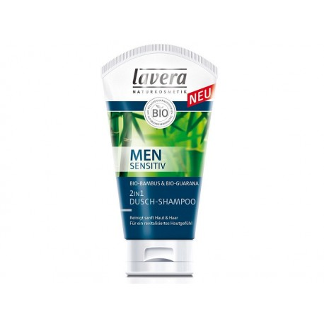 2in1, Șampon-gel de duș Men Sensitiv, 150 ml - Lavera