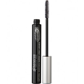 Mascara Super Long Lashes Negru intens, 8 ml - Benecos