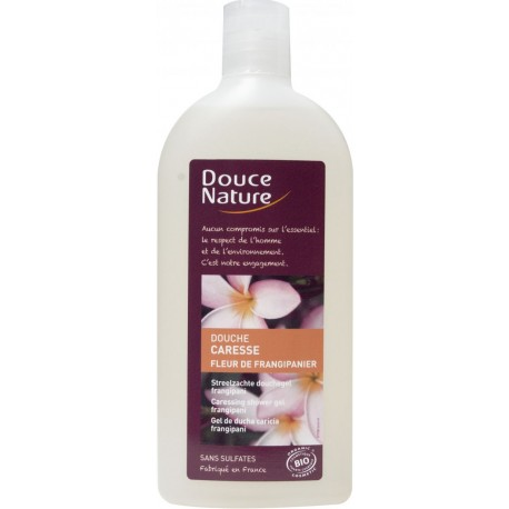 Gel de duș Floare de Frangipani, 300 ml - Douce Nature