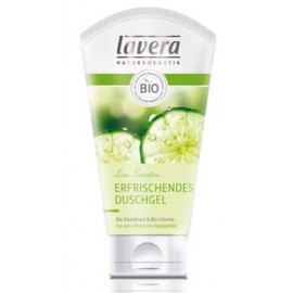Gel de duș Lime Sensations, 150 ml - Lavera